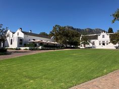 Lanzerac is an historic wine estate and five-star hotel in Stellenbosch near Cape Town. Lanzerac Wine Estate offers excellent food/wines and accommodation. Tree Lined Driveway, Spa Offers, Small Buildings, Beautiful Pools, Five Star Hotel, Brickwork, Old World Charm, Other Rooms, Hotel Spa