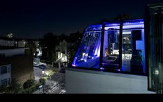penthouses at night - Google Search