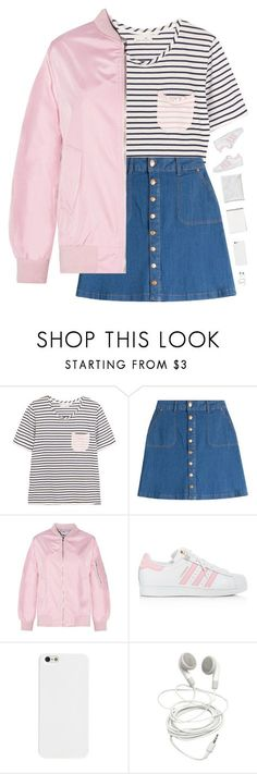 """""""Am I tumblr yet?"""" by genesis129 ❤ liked on Polyvore featuring Chinti and Parker, HUGO, adidas and vintage"""