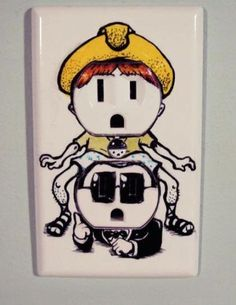Gangnam Style Electrical Outlet