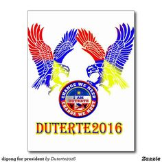 digong for president postcard Create Yourself, Create Your Own, Roots, Presidents, Playing Cards, History, Shirts, Design, Historia
