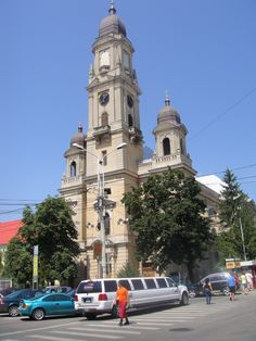 """The """"Moon Church"""" in Oradea, the first and oldest Christian Orthodox Church in Transylvania Orthodox Christianity, Beautiful Places In The World, Travelling, Places To Go, Moon, Street, Awesome, Building, The Moon"""