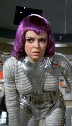 I like the 2 different cloth pattern Ufo Tv Series, Sci Fi Series, Sci Fi Films, Sci Fi Tv, British Actresses, Actors & Actresses, Science Fiction, Space Girl, Space Age