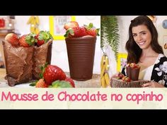 MOUSSE de CHOCOLATE no COPINHO de CHOCOLATE | TPM, pra que te quero? - YouTube