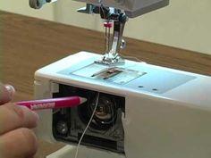 Sewing corded pintucks with Bernina on batiste.