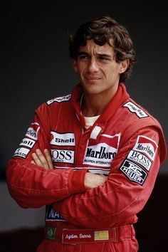 Ayrton Senna. Truly wonderful and talented man. There are too few kind souls like him left in this world, it's a tragedy he is no longer with us.