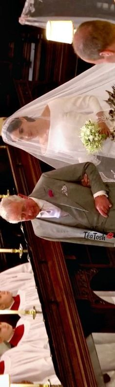 ❈Téa Tosh❈ Prince Harry and Meghan Markle's Royal Wedding. May 19, 2018…Meghan Markle walks down a portion of the aisle in St. George's Chapel alone…& Prince Charles walks Meghan Markle down the rest of the aisle to give Meghan's hand to his son...