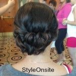 updo, wedding hair, up in curls, prom, bridal updo