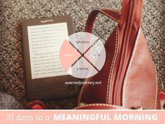 31 Days to a Meaningful Morning, Disclaimer Edition: When There Is No Space and You Don't Have a Place... - A Sacred Journey