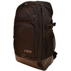 Jansport Honcho 15 inch Laptop Backpack Bag in Black at OrlandoTrend.com #orlandotrend #jansport
