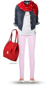 casual teen valentine outfit polyvore bmodish