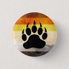 gay paw print sticker bear paws lgbt cub pride power car window decal 3 x 3