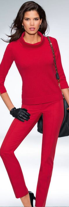 Madeleine Trousers and Sweater: New Fall 2014 Arrivals from Madeleine....Suits, Jackets, and Pants