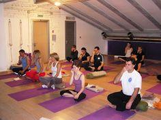 Мастер-класс в студии Pilates & Yoga