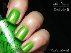 *Cult Nails - Deal With It (Coco's Untamed Collection Summer 2012) / FashionPolish