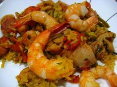 I'll be making this ASAP with Iranian saffron but omitting the RABBIT....?????? Authentic Spanish Paella. Photo by Papa D