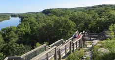 Hike these trails through some of the best scenery in Illinois.