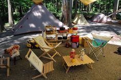 板取川温泉キャンプ day.2 : 岐阜発おしゃれキャンプ?