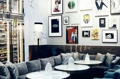 Stylish place - The Bank Brasserie & Bar Flat Screen, Gallery Wall, Places, Bar, Lifestyle, Stylish, Home Decor, Homemade Home Decor, Flat Screen Display