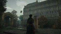 Screen shot from Assassin's Creed Syndicate by Deborah Cates.