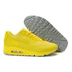 sports shoes 3920b 28fd7 zyA32 Chaussures Nike Air Max 90 Hyperfuse Prime Jaune