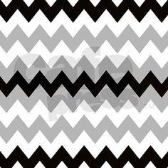 Black Gray and White Stripe Shower Curtain on CafePress.com
