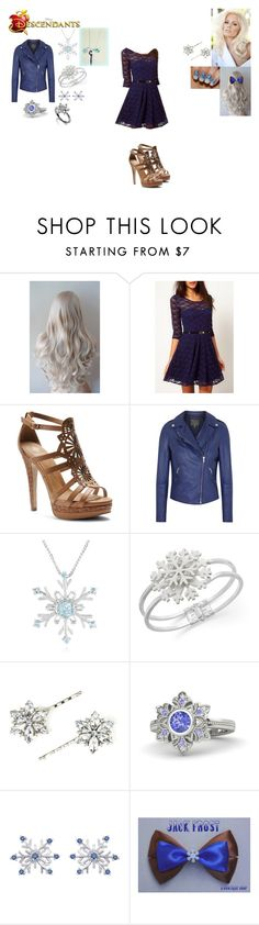 """Jewel Frost-Daughter of Jack Frost"" by maxinehearts on Polyvore featuring Isolá, MuuBaa, Charter Club, Gemvara, OC, rotg, RiseOfTheGuardians and Descendants"