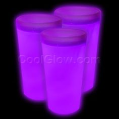 Share CoolGlow with you Friends and Receive 5% on your order.  Glow Cup - Purple - Glow Sticks, Glow Necklaces, Glow Bracelets, Wholesale Cheap Glow Sticks #http://pinterest.com/coolglow/