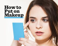 Pucker Up, Smile Big, Suck In Your Cheeks: The Best Faces to Make When Applying Makeup   Women's Health Magazine