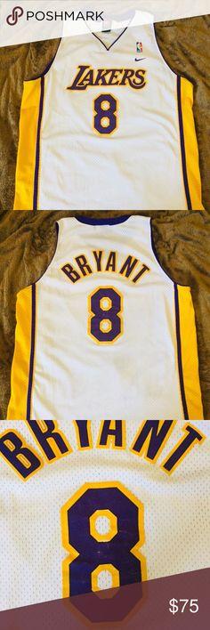 OG NIKE KOBE BRYANT LAKERS JERSEY VINTAGE Real Deal vintage OG Nike Kobe  Bryant Lakers Jersey ea1239a1b