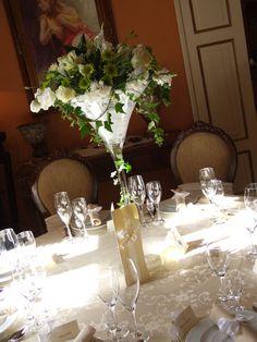 kompozycje kwiatowe na stół weselny - Szukaj w Google
