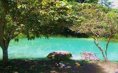 LagoaAzul-AMAZONAS Brasil, essa lagoa é mesmo linda eu quero ir pra lá