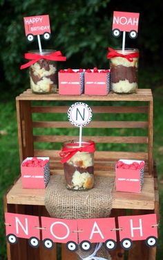 Radio Flyer Red Wagon Birthday Party Ideas | Photo 7 of 17 | Catch My Party