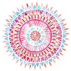 Mandala art wallpaper awesome colour new ideas Mandala Art, Watercolor Mandala, Mandalas Drawing, Watercolor Design, Tattoo Watercolor, Mandala Pattern, Mandala Meditation, Watercolor Pattern, Mandala Design