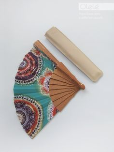 Spanish folding fan with case by Olele #Boho #Cottage #Chic #Hippie