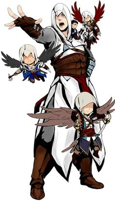 Altair: Go, my little akumas! XD
