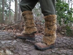 Hey, I found this really awesome Etsy listing at https://www.etsy.com/au/listing/201428250/viking-fur-leggings-boot-covers-leg