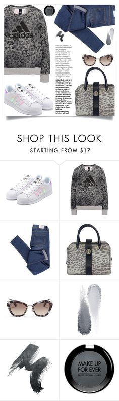 """""""#PolyPresents: Wish List"""" by samra-bv ❤ liked on Polyvore featuring adidas, Cheap Monday, Karen Millen, Miu Miu, Clé de Peau Beauté, MAKE UP FOR EVER, casual, sneakers, gym and contestentry"""