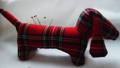 Handmade to order......Sausage Dog Pin by LITTLECUSHIONSHOP, £9.00