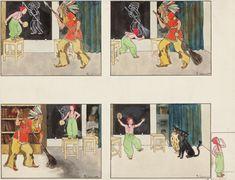 Scheiner Arthur 1883–1938 | Kulihrášek a indián | Aukce obrazů, starožitností | Aukční dům Sýpka