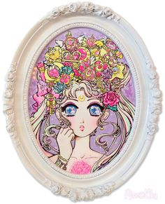 """ Moonlight Legend~make up! "" by Miss Kika for Magical Heroines~ Qpop's Sailor Moon Tribute Show!"