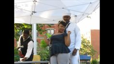 """Silk Stockings and a Bible"" performance at 2014 Harlem Arts Festival. Silk Stockings, Art Festival, Theatre, Bible, In This Moment, Biblia, Theater, The Bible, Books Of Bible"