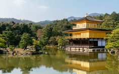 """Kyoto's Golden Pavilion"" -- #wallpaper by ""andrewsparrow"" from http://interfacelift.com -- Golden Pavilion, Kyoto, Japan.  October 2015.  Adobe Lightroom. -- Available as #wallpapers in any resolution at: http://interfacelift.com/wallpaper/details/3997/kyoto%27s_golden_pavilion.html"