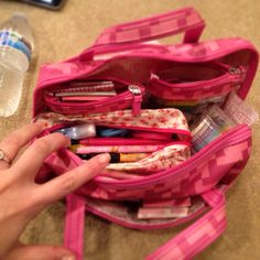 My travel caddy for my filofax goodies.