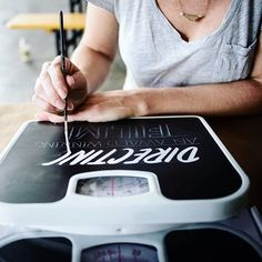 Use Retro-Styled Lettering To Create A Custom Vintage Sign Script Lettering, Vintage Lettering, Lettering Design, Typography, Different Lettering Styles, Brownie Bar, Family Signs, Vintage Vibes, Painted Signs