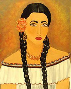 Puerto Rican Painter | Mia Roman Hernandez Artist Painter