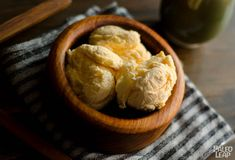 Paleo Coconut Vanilla Ice Cream