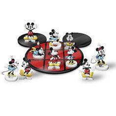 Disney Mickey n Minnie Tic Tac Toe Set Walt Disney, Disney Games, Disney Gift, Disney Crafts, Disney Fun, Disney Ideas, Disney Theme, Mickey Mouse Treats, Mickey Mouse And Friends