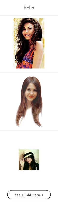 """""""Bella"""" by audreywolfblood ❤ liked on Polyvore featuring people, victoria justice, doll parts, dolls, heads, doll heads, body parts, home, home decor and art"""