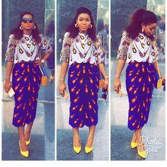 Va-Va-Voom in These Stylish Must-Have 2017 Ankara Styles - Wedding Digest Naija African Attire, African Wear, African Women, African Dress, African Clothes, African Print Fashion, African Fashion Dresses, Ankara Fashion, African Prints